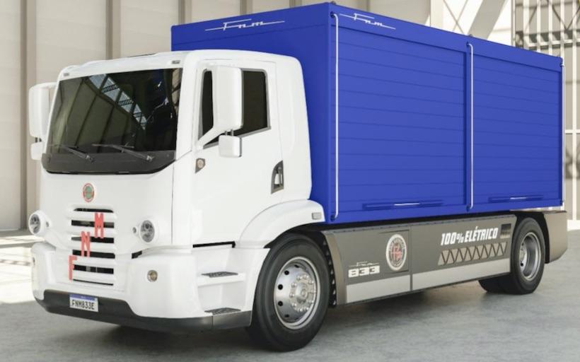 Brazilian Auto Manufacturer FNM Returns to Develop Electric Trucks