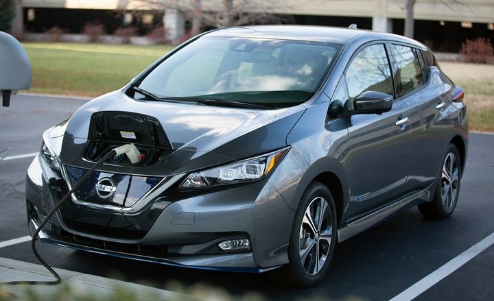 The 2021 Nissan Leaf is available in two versions, Leaf and the extended-range Leaf Plus.  - Photo: Nissan