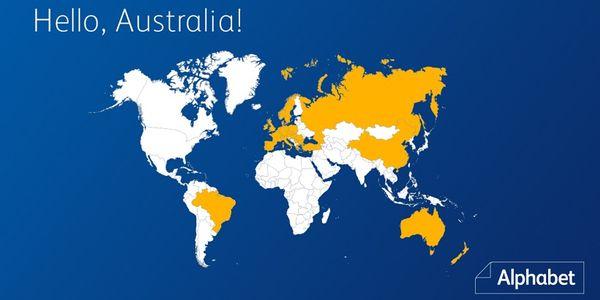 Alphabet Expands Global Fleet Reach to Australia & New Zealand