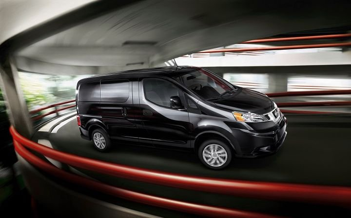 The 2021 Nissan NV200 Compact Cargo is on sale now with a starting MSRP of $23,530, which adds standard cruise control on S models and standard rear sonar on SV models.  - Photo: Nissan