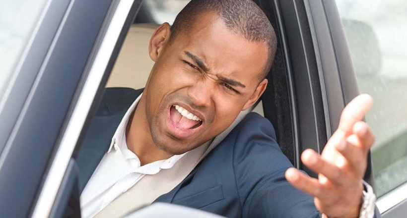 Men Are More Aggressive Behind the Wheel