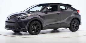 Toyota's 2021 C-HR Achieves Top Safety Pick Award