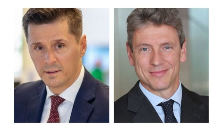 (left to right) Alessandro Pigazzi, retail director of Arval Italy, and Dan Boiangiu, director of the International Business Office, Arval. - Photo: Arval