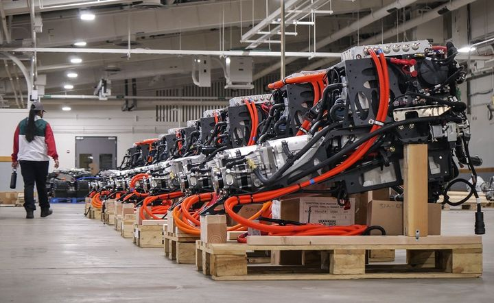 After recently moving its headquarters and expanding its square footage from 45,000 to 124,000, Lightning eMotors is now adding another 107,000 square feet in an adjacent building of its headquarters. - Photo: Lightning eMotors
