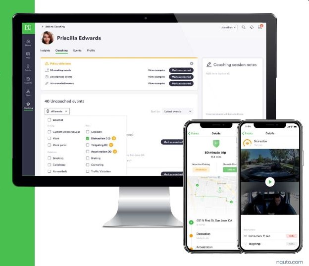 Nauto's Driver Safety Platform Joins Geotab Marketplace