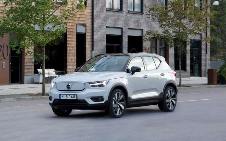 Pictured is theVolvo XC40 Recharge AWD. - Photo: Volvo