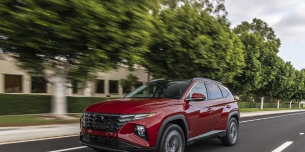 The 2022 Hyundai Tucson is also available with a new hybrid powertrain that offers more than 500...