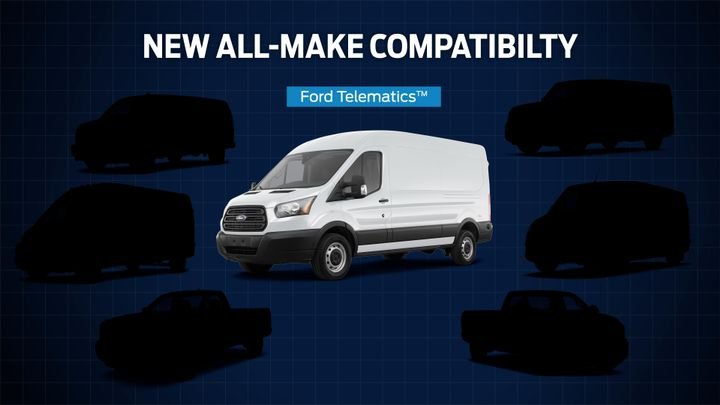 Ford is expanding its Ford Telematics service to support all makes and models so fleet operators can gather, view, and monitor data from all their vehicles, regardless of manufacturer. - Photo: Ford