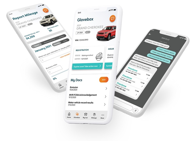 LeasePlan Updates its Driver Mobile App