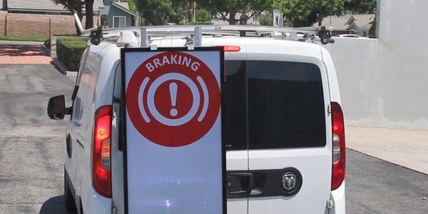 Siemens Installing Digital Panels on its Technician Vans