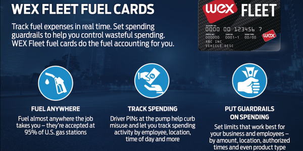 The Ford and WEX referral arrangement will offer Ford fleet customers multiple fuel card options.