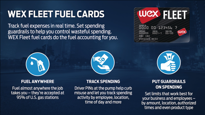 The Ford and WEX referral arrangement will offer Ford fleet customers multiple fuel card options. - Screengrab: Ford Motor Co.