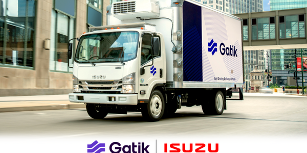 The collaboration will integrate Gatik's autonomous driving technology into several Isuzu...