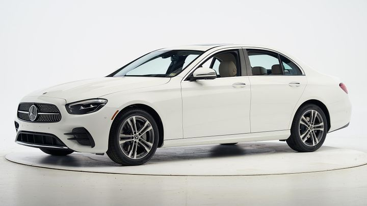 To garner a Top Safety Pick+ the 2021 E-Class underwent six serious crashworthiness evaluations. - Photo via IIHS.