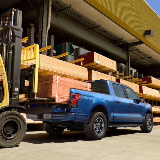 2022 All-Electric Ford F-150 Lightning - Photo: Ford Motor Company