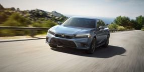 Honda's 2022 Civic Boasts New Airbags, Safety Systems