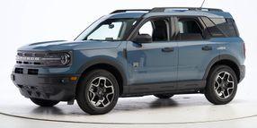 Ford Bronco Sport Lassos Top Safety Award