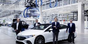 Mercedes-Benz Starts Production of EQS at Factory 56