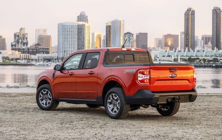Starting with an MSRP of $19,995, the 2022 Ford Maverick is smaller than the Ranger and focused on those who may not have realized they needed a truck. - Photo: Ford