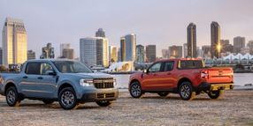 Ford Debuts All-New 2022 Ford Maverick Hybrid Compact Pickup