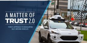 Ford Updates Safety Self-Assessment for Self-Driving Vehicles