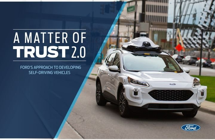 The report is an updated version of Ford's original safety self-assessment issued to the DOT in 2018. - Photo courtesy of Ford.