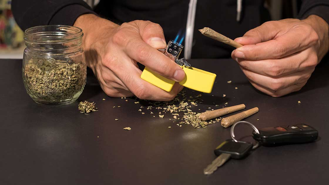 Collisions Spike in Five Legalized-Marijuana States