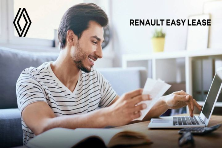 In a context of changing purchasing behavior from private customers, Renault is launching Easy Lease, a 100% online long-term rental offer for private customers. - Photo:Renault