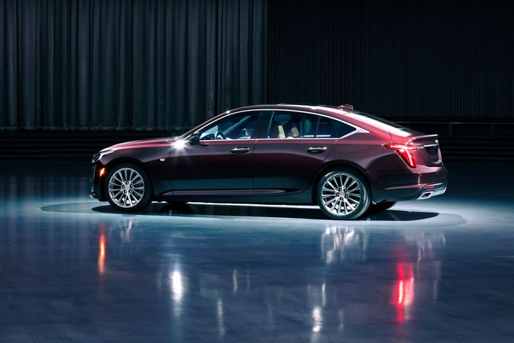 The Cadillac CT5 is among the vehicles being recalled by GM for an airbag issue. - Bobit file photo.