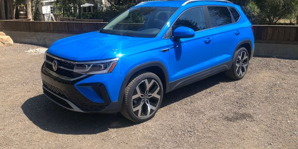 All-new 2022 VW Taos compact SUV