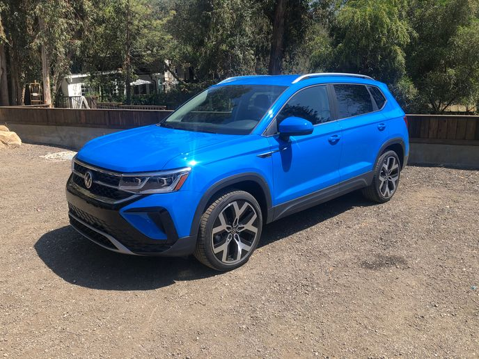 All-new 2022 VW Taos compact SUV - Photo: Mike Antich
