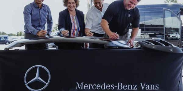 In addition to the new marshalling yard,Mercedes-Benz USA will now utilize a new logistics...