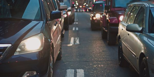 Traffic is dropping in the earlier hours — from 6 a.m. to 8 a.m. — and also in the later morning...