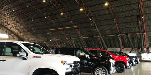 The 2019 Chevrolet Silverado lineup.
