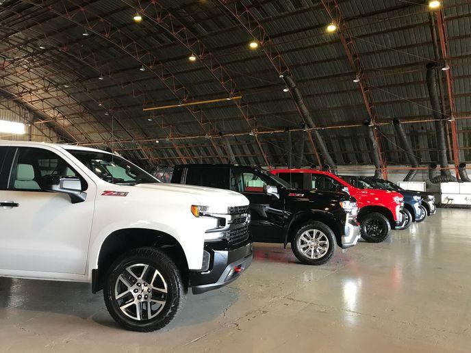 The 2019 Chevrolet Silverado lineup. - Photo viaGM file photo/Automotive Fleet.