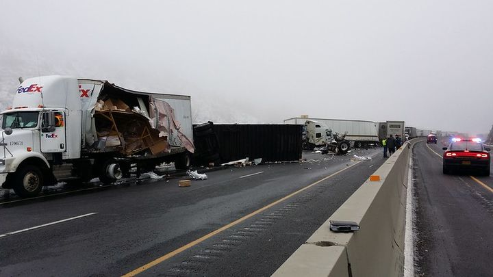 The keynotewill show how fleet operators can enhance safeguards, address warning signs, and reevaluate fleet safety policies to mitigate potential future crashes like this one in Oregon from 2015. - Photo via flickr/Oregon Dept. of Transportation.