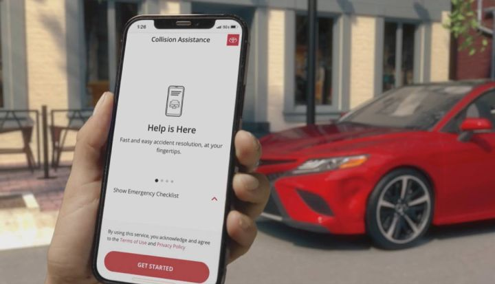 Collision Assistance is designed to let the customer choose how they'd like to handle the claim and repair processes, providing convenience and safety while also ensuring owners are informed about the process through completion. - Photo: Toyota.