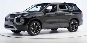 2022 Mitsubishi Outlander Earns IIHS' Top Safety Accolade