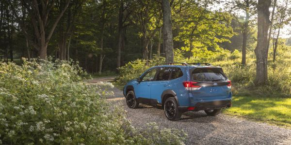 The 2022 Forester comes standard with the latest version of EyeSight Driver Assist Technology.