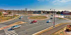Double-Teardrop Roundabout Slashes Injury Crashes by Nearly 85%