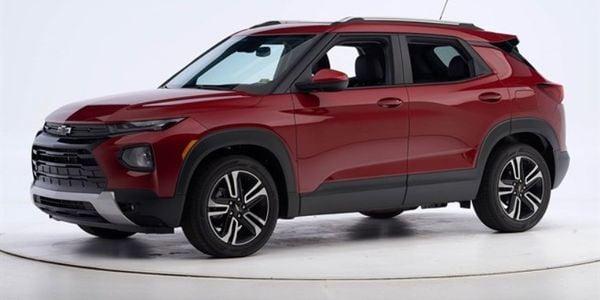 GM's 2021 Chevrolet Trailblazer won the Top Safety Pick+.