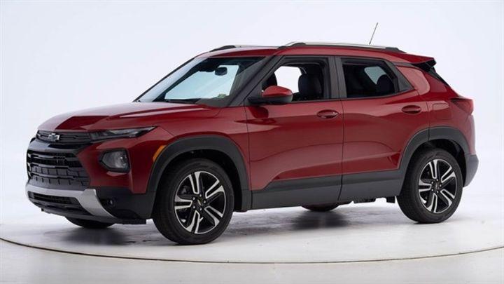GM's 2021 Chevrolet Trailblazer won the Top Safety Pick+. - Photo courtesy of IIHS.