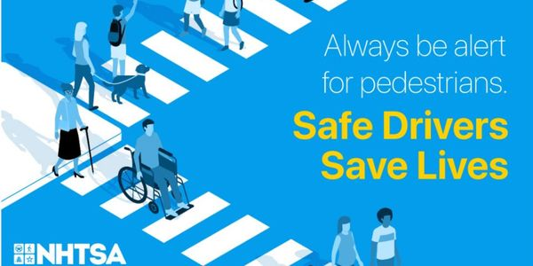 Pedestrian Deaths Comprised 17% of All Roadway Fatalities in 2019