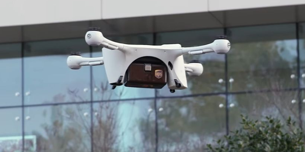 UPS hopes to start drone flights of medical specimens in North Carolina.