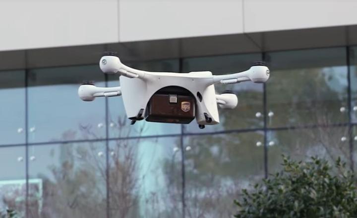 UPS hopes to start drone flights of medical specimens in North Carolina.  - Screenshot via UPS.