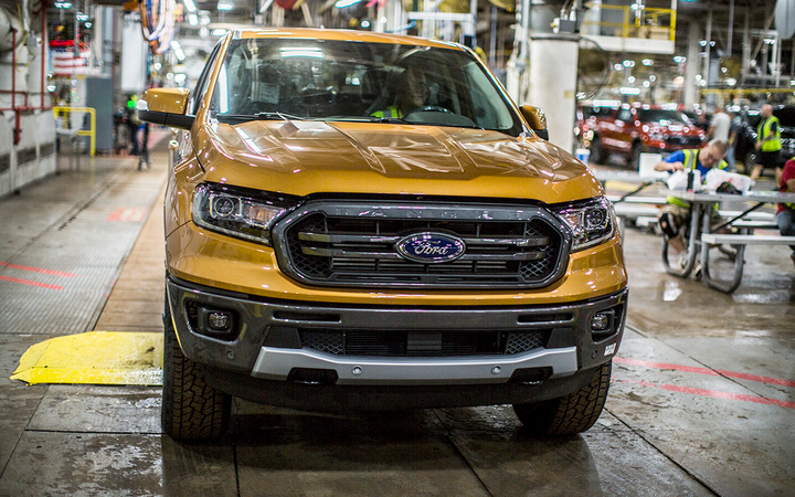 The 2019 Ford Ranger is reportedly among the first vehicles set to undergo retesting following the factory's discovery of a potentially flawed methodology for calculating fuel economy.  - Photo courtesy of Ford Motor Co.