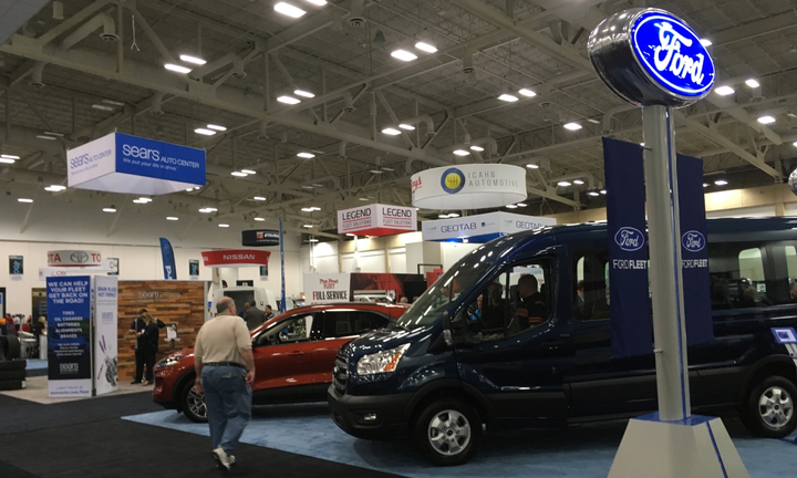 Ford Fleet was one of the exhibitors present on the show floor. 