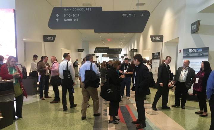 Day 2 of NAFA I&E 2019 hosted session covering a variety of topics pertinent to fleet management. 