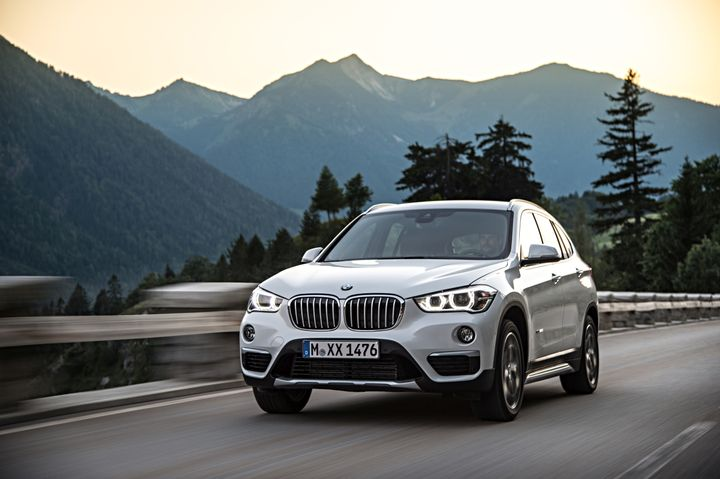 The X1 models were recalled becausein the event of a crash where the occupant's head contacts the B-pillar, the pillar may not absorb an adequate amount of the impact.  - Photo courtesy of BMW.