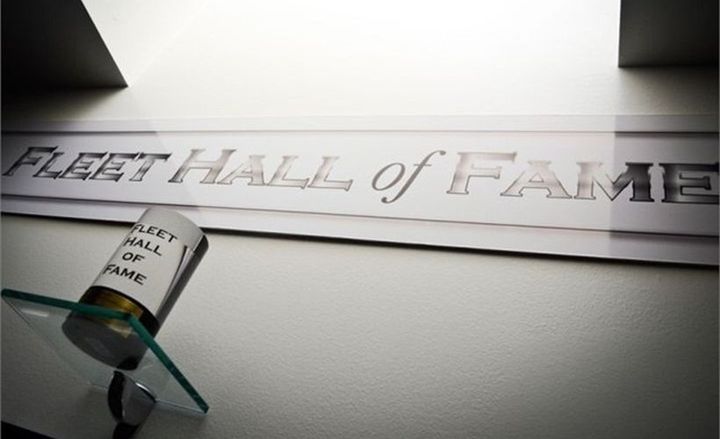 The Fleet Hall of Fame was instituted in 2008. Three new members will be added in 2019.